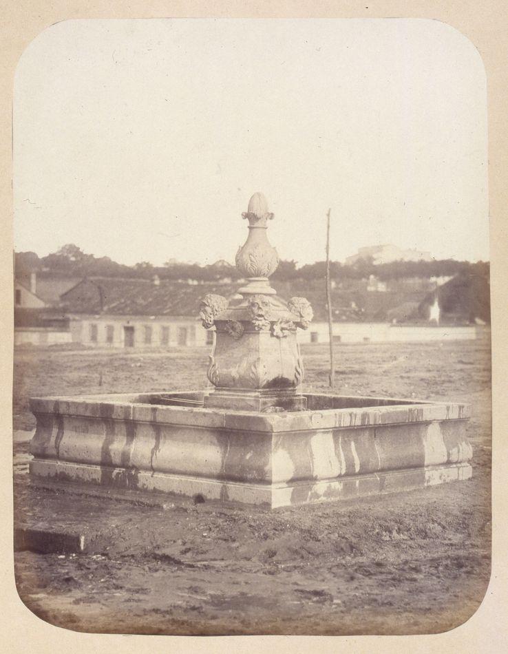 fuente plaza de olavide, madrid