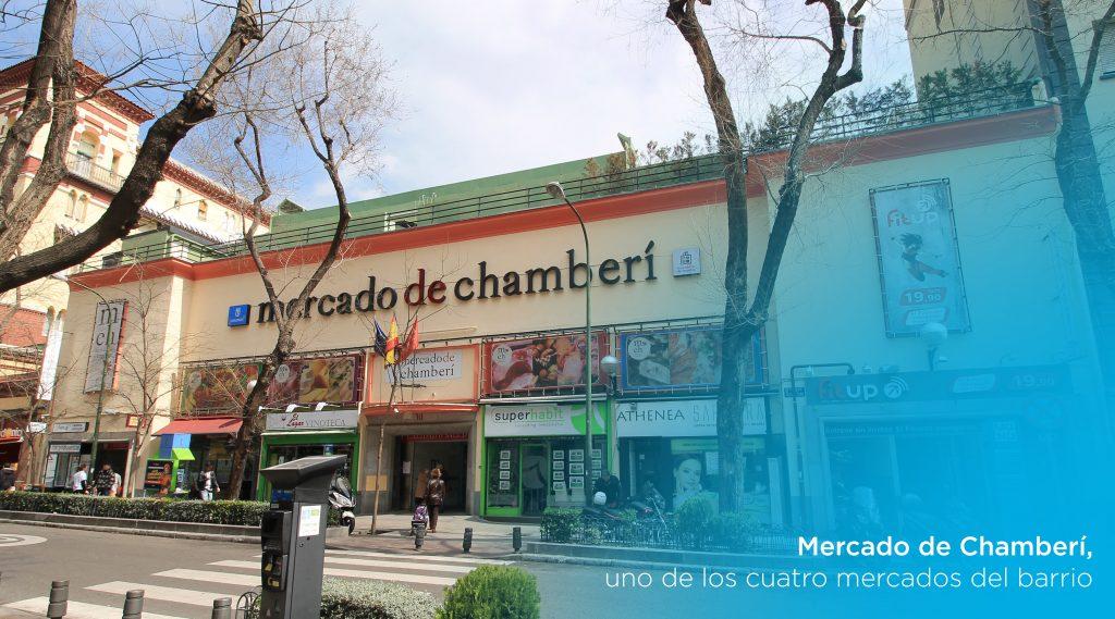 razones para vivir en chamberí, mercado de chamberí
