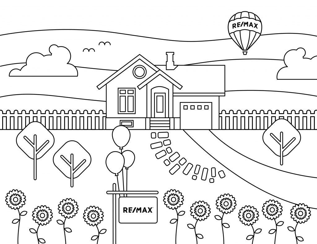 Dibujo para colorear con niños REMAX: 01
