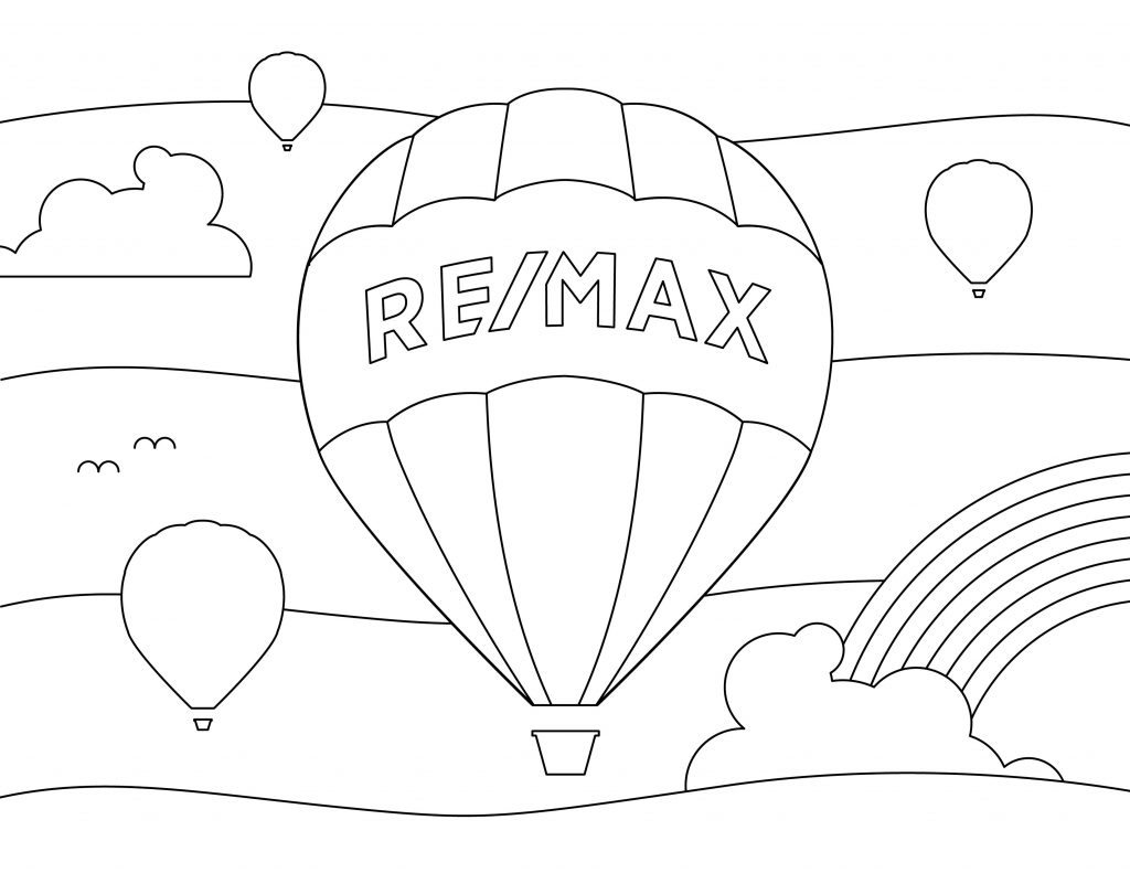 Dibujo para colorear con niños REMAX: 03
